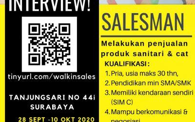 WALK IN INTERVIEW BERSAMA SUTINDO
